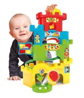 Clementoni Educational Baby Toddler Infant Roll and Drop Fun Castle Toy